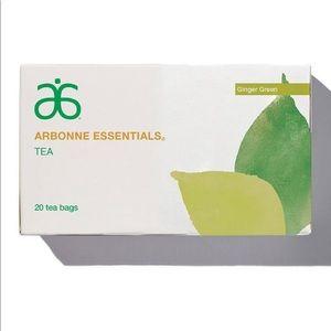 Arbonne ginger green tea